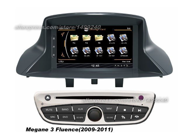 for renault scenic iii 2010 2013 car gps navigation system radio tv dvd bt ipod 3g wifi hd. Black Bedroom Furniture Sets. Home Design Ideas