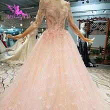 AIJINGYU Weddingdress Long Train Affordable Websites Gown