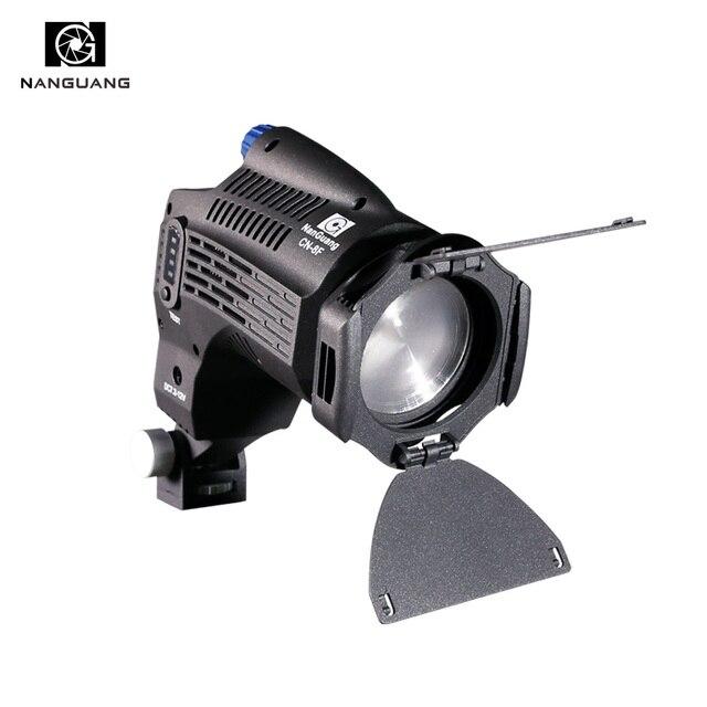 5600K Mini Focusing LED Fresnel on Camera Light Light+Barndoor+Filter+Light Bag for Photo Video