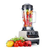 1200W Heavy Duty Commercial Grade Blender Mixer Juicer High Power Food Processor Ice Smoothie Bar Fruit Blender