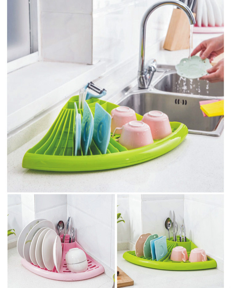 Bowl Drain Rack Pelbagai fungsi Dapur Dish Spoon Rak Bowl Rak Kabinet Dish Rack Drying Accessories