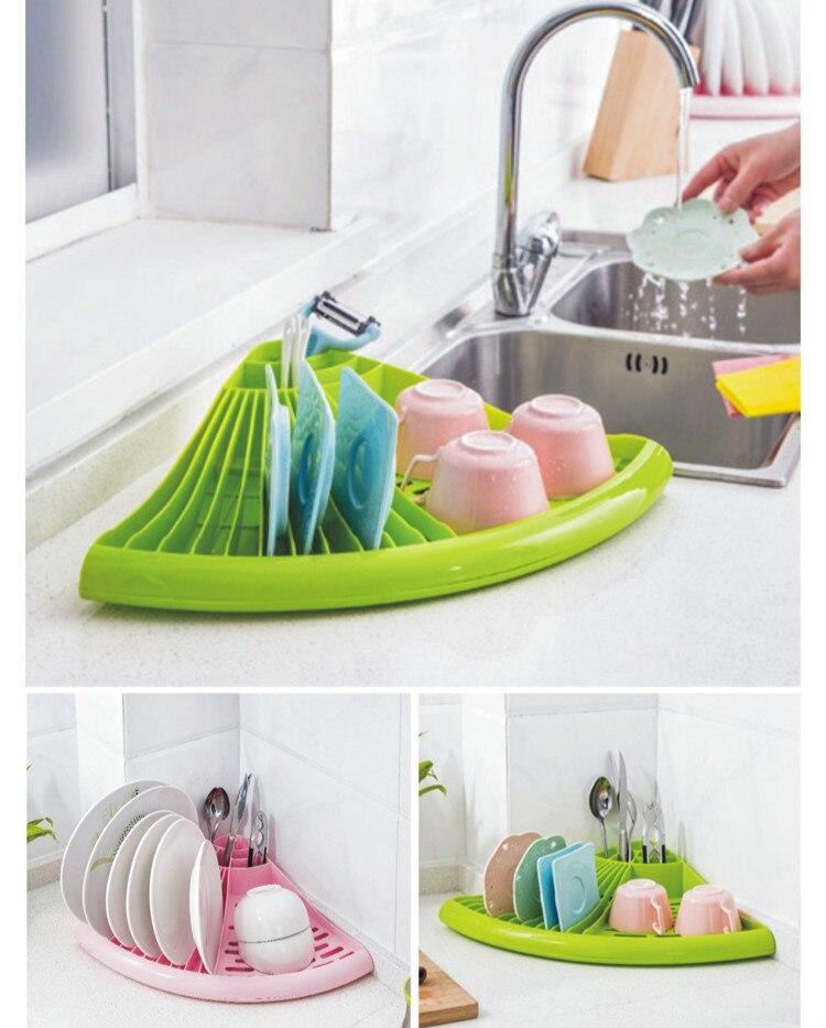 Bowl Drain Rack Multifunctional Kitchen Dish Spoon Shelf Bowl Rack Cabinet Dish Rack Drying Accessories