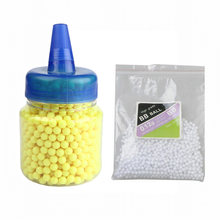1000 rondas 0,12g BBs Airsoft balas Strikeball Strike Ball táctico pistola de aire de alta calidad BB bolas de PaintBall para la caza tiroteo(China)
