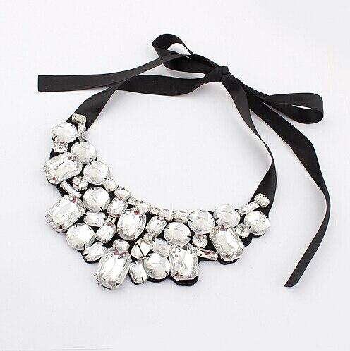 F&U Jewelry Choker Վզնոց տերև Ակրիլային - Նորաձև զարդեր - Լուսանկար 4