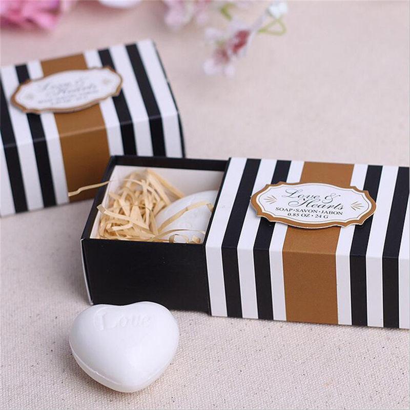 Ideas For Gifts For Wedding Guests: Wedding Souvenirs White Love Heart Soap Wedding Favors And