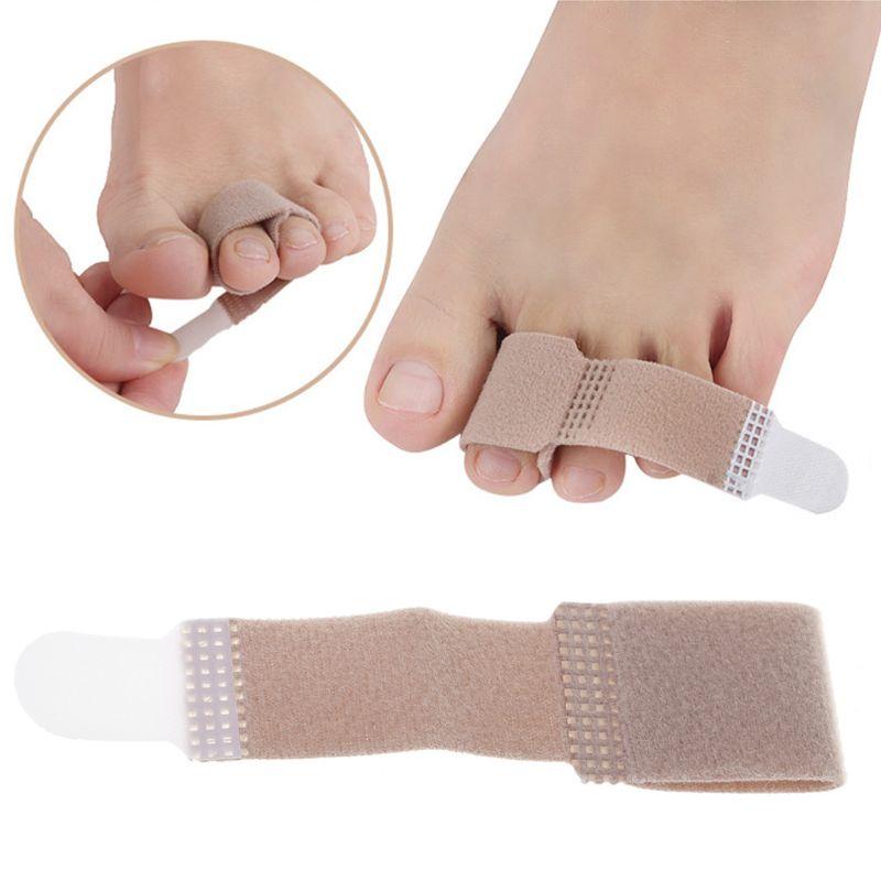 EYKOSI Toe Tensioner Finger Thumb Valgus Correct Separator Strap Elastic Tensor Protect Waterproof Finger Correct