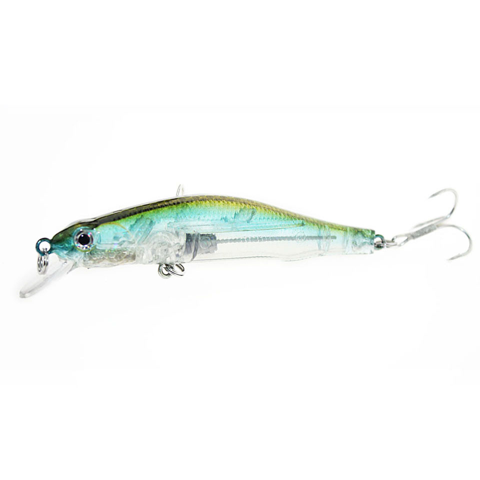 1PCS 8cm 10g Fishing Lure Deep Swimming Crankbait Hard Bait 5 Colors Available Wobbler Slow Floating Fishing Tackle wldslure 1pc 54g minnow sea fishing crankbait bass hard bait tuna lures wobbler trolling lure treble hook