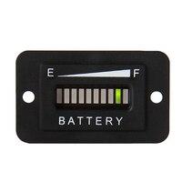 48 V DOPROWADZIŁO Wskaźnik Baterii Opłata Absolutorium Tester Woltomierz Cyfrowy Miernik Napięcia Tester