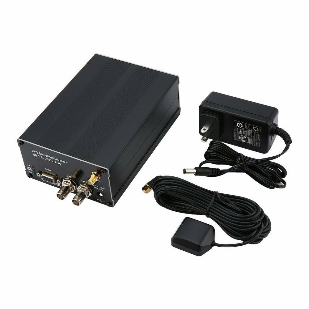Latest 10MHZ SINE WAVE Sinewave GPS DISCiPLINED CLOCK GPSDO + LCD Display