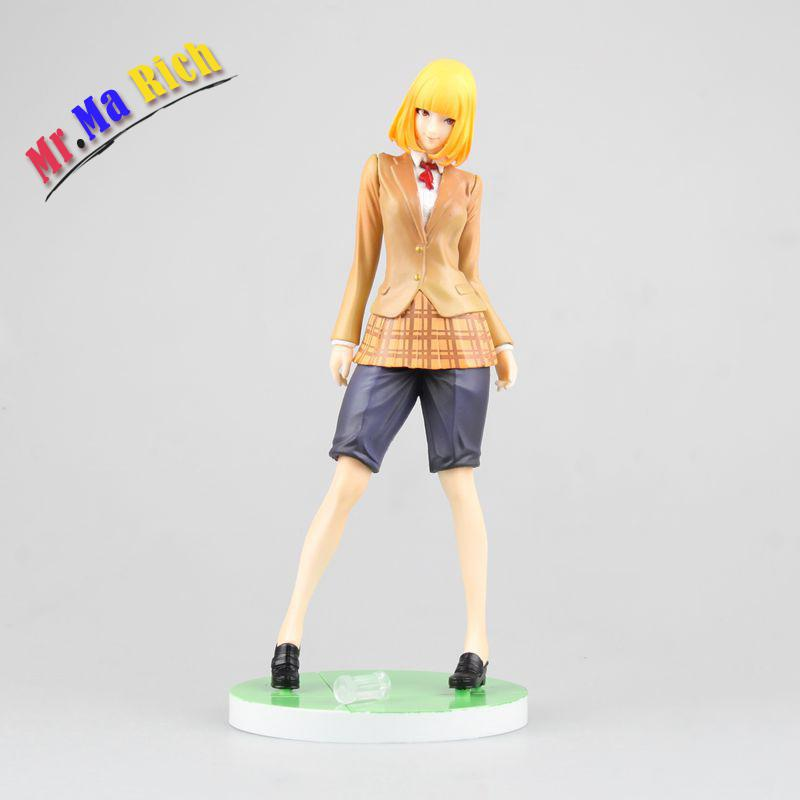 New Anime Sexy Figure Prison School Midorikawa Ha Brinquedos Pvc Action Figure Sexy Girl Figure Collection Model Toy  22cm