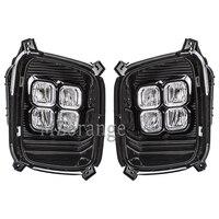 MZORANGE Габаритные огни для Kia Sorento 2012 2013 2014 12 V ABS светодиодный DRL Системы Противотуманные огни крышка дальнего света аксессуары