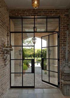 Commercial Steel Doors Metal Door Frame Exterior French Doors