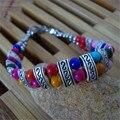Tibet Jewelry Nepal Turquoise Beads Multilayer Retro Charms Bracelet Woman Vintage Bijoux Bracelets & Bangles 2017 Hot Z03