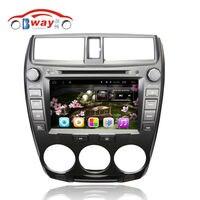 Bway Android 6 0 Car Radio For HONDA CITY 2008 2009 2010 2011 Car Dvd GPS