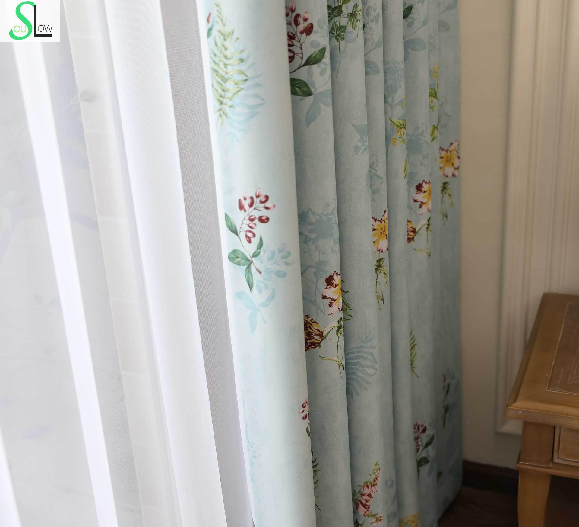 negozio online lento anima nuovo fiore di alta lascia tende per ... - Tende Per Soggiorno Cucina