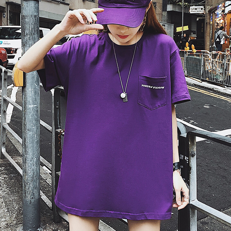 Women Tops O Neck Printed Cotton With T shirt Medium And Long Short Sleeves In 2009 Broadcloth Sleeve Style 91 99 Cotton HJH in T Shirts from Women 39 s Clothing