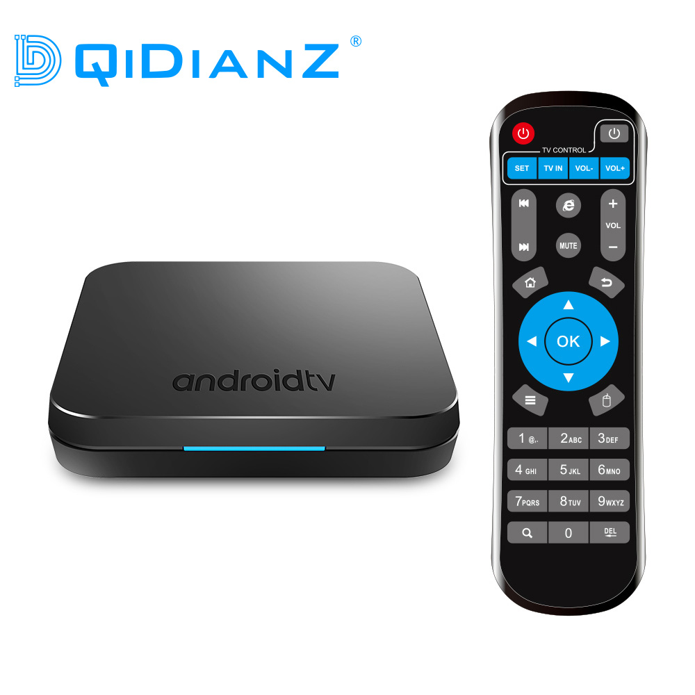 DQiDianZ KM9 Android 9 0 Smart TV BOX Amlogic S905X2 Quad Core support 2 4G 5G