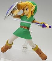 Hot Game Zelda Link The Legend of Zelda A Link Between Worlds Figma 284 # Action Figure Series 11
