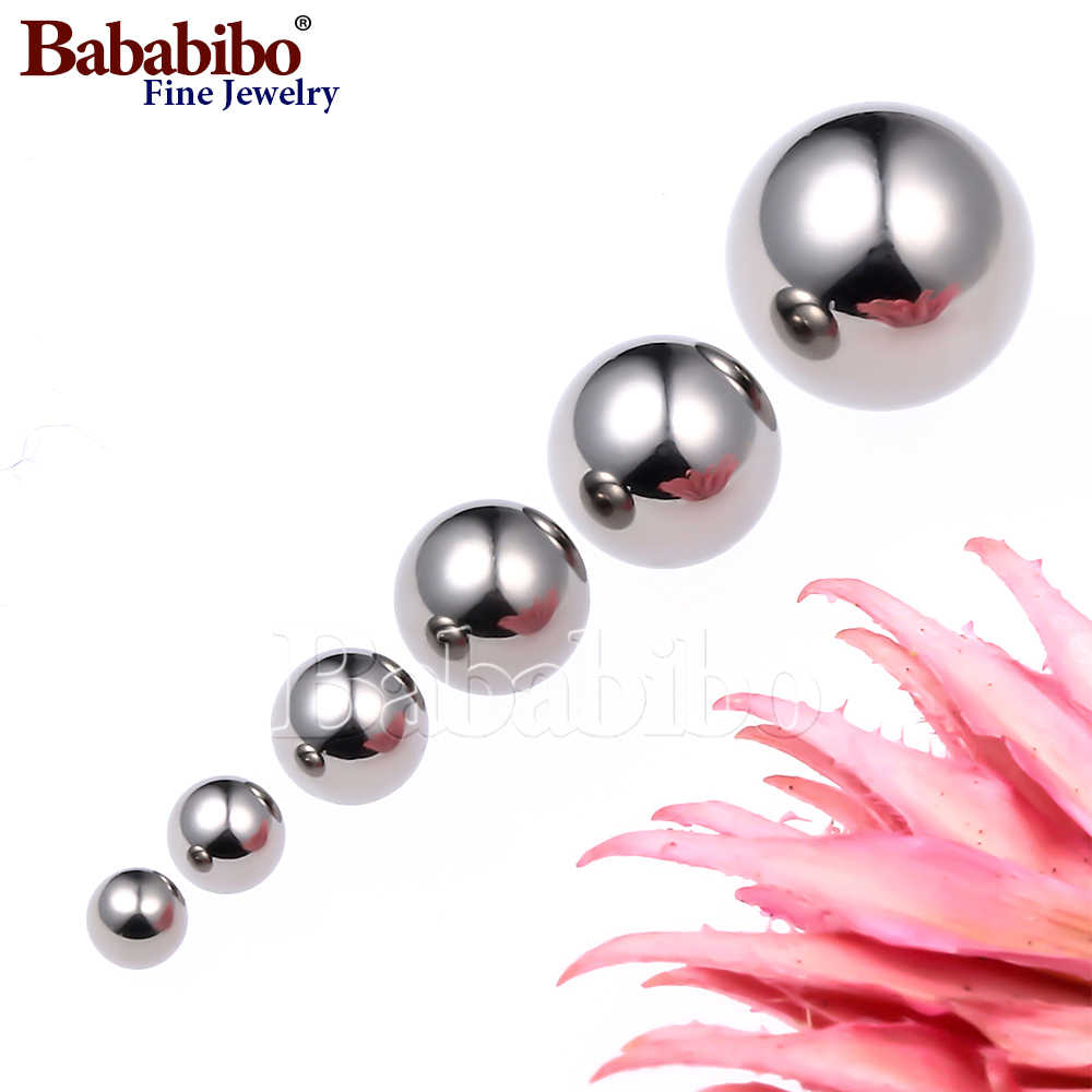40pcs 3mm 4mm Body Jewelry Eyebrow Nipple Belly Ring Repalcement End Ball