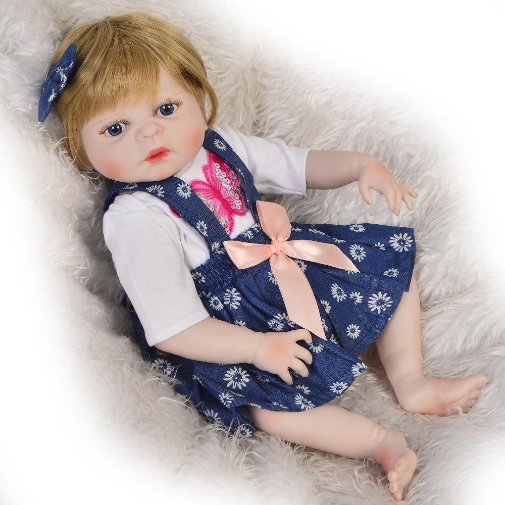 KEIUMI offre spéciale Reborn bébé poupée jouet réaliste pleine Silicone corps perruque mignon Reborn poupées pour enfants cadeau d'anniversaire meilleur Playmate-in Poupées from Jeux et loisirs    2