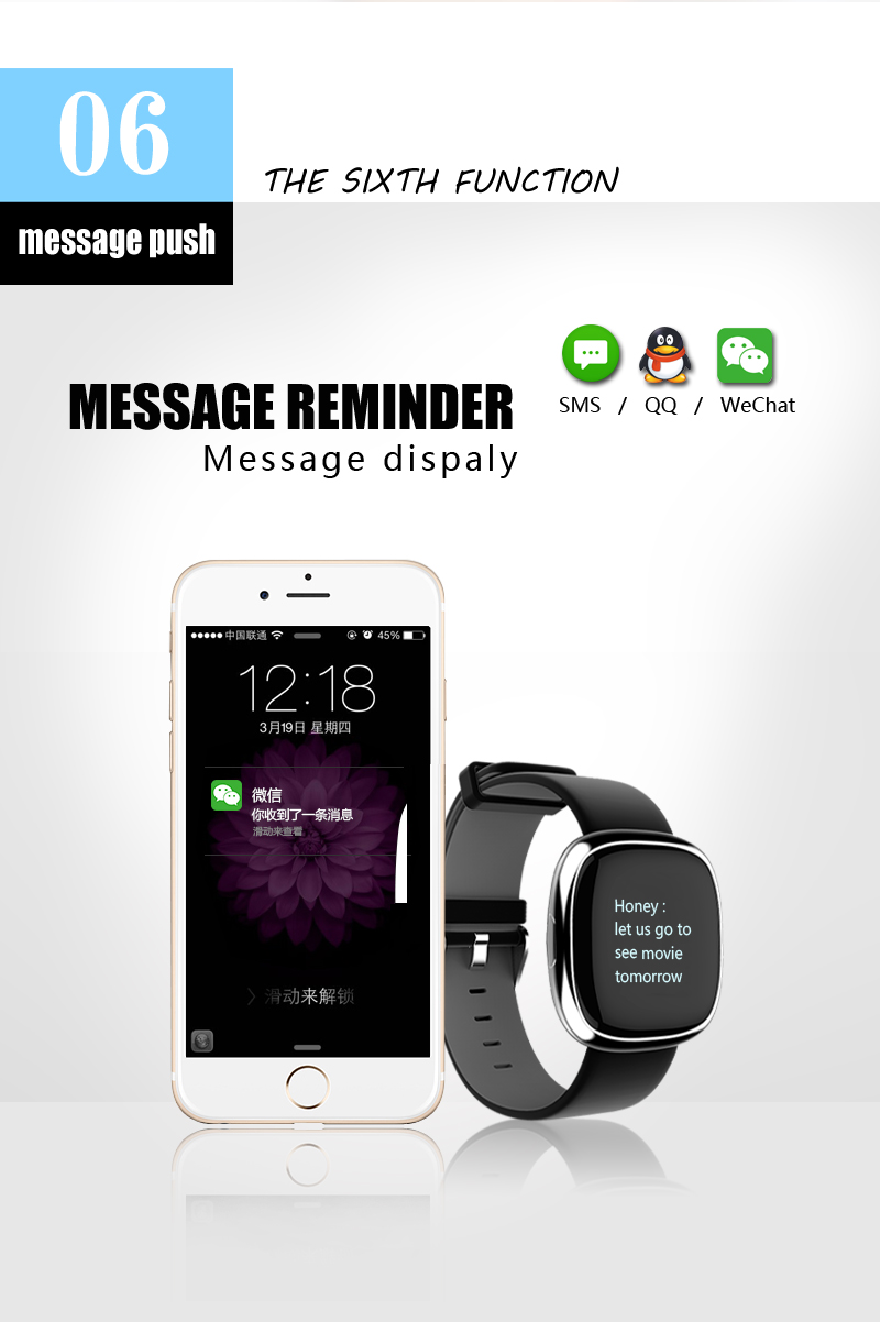 Smart Band P2 Blood Pressure Heart Rate Monitor Smart Bracelet Pedometer Smart Fitness Tracker for Android IOS Smartphones 15