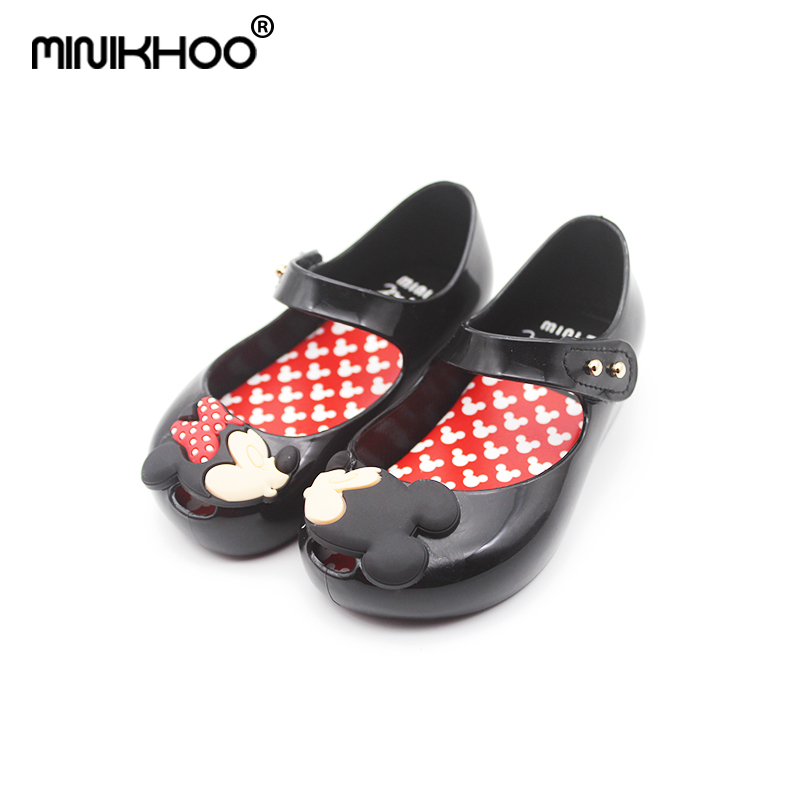 Mini Melissa Mickey Minnie Jelly Sandals Baby Sandals ChildrenS Shoes Soft Bottom Beach Shoes Mini Shoes For Girls EUR 24-29