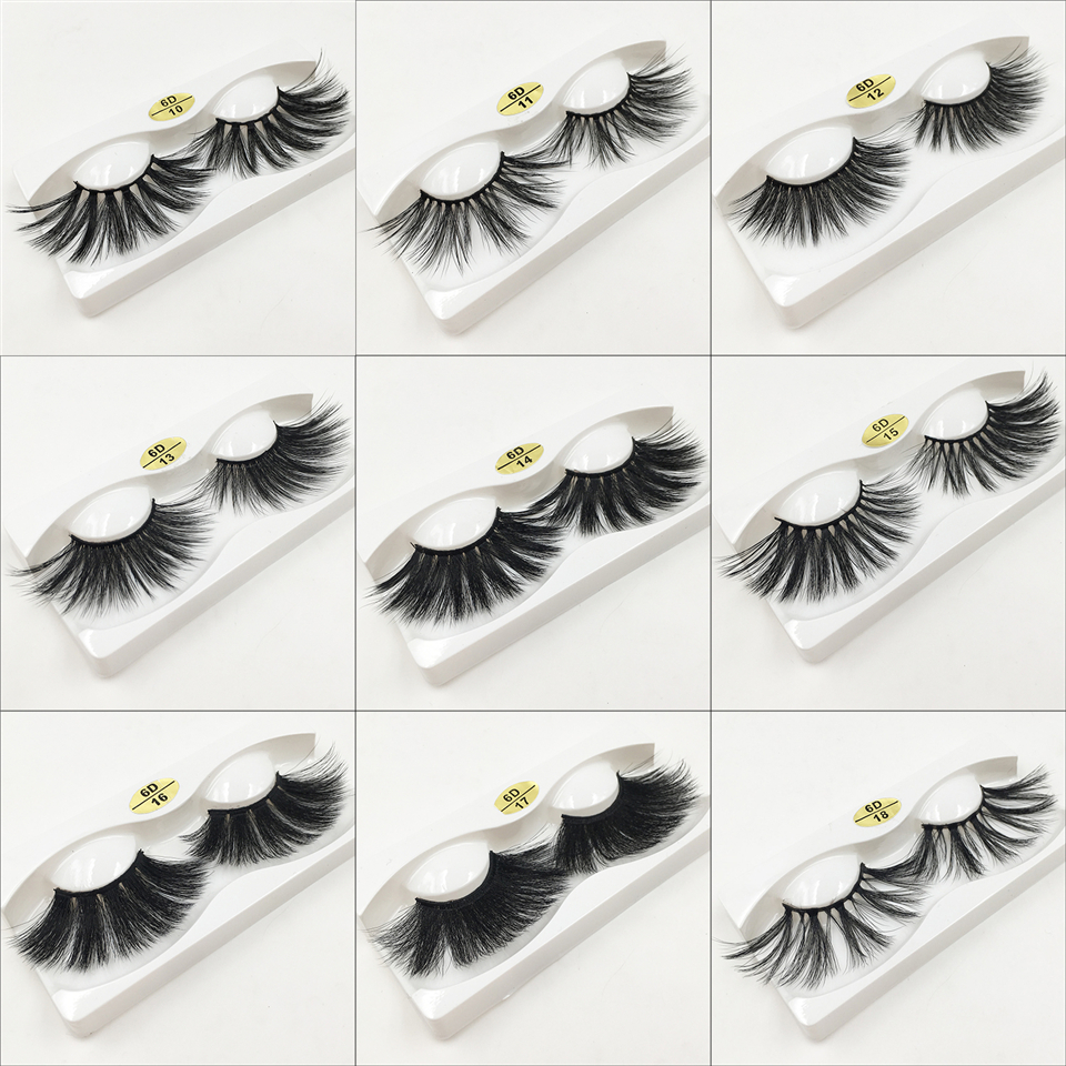 Wholesale Beauty Vendors Us 2 33 35 Off 28 Styles 25mm Lashes Wholesale False Eyelashes Dramatic Long Thick 3d Lashes Maquillaje Vendors Full Strip False Lashes In False