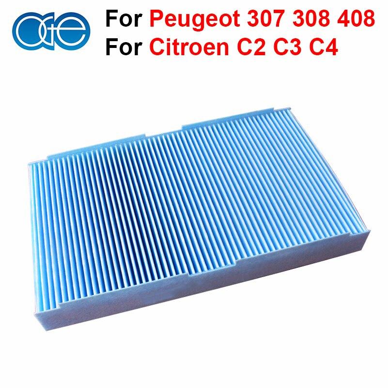 car carbon cabin filter for peugeot 307 308 408 1007. Black Bedroom Furniture Sets. Home Design Ideas