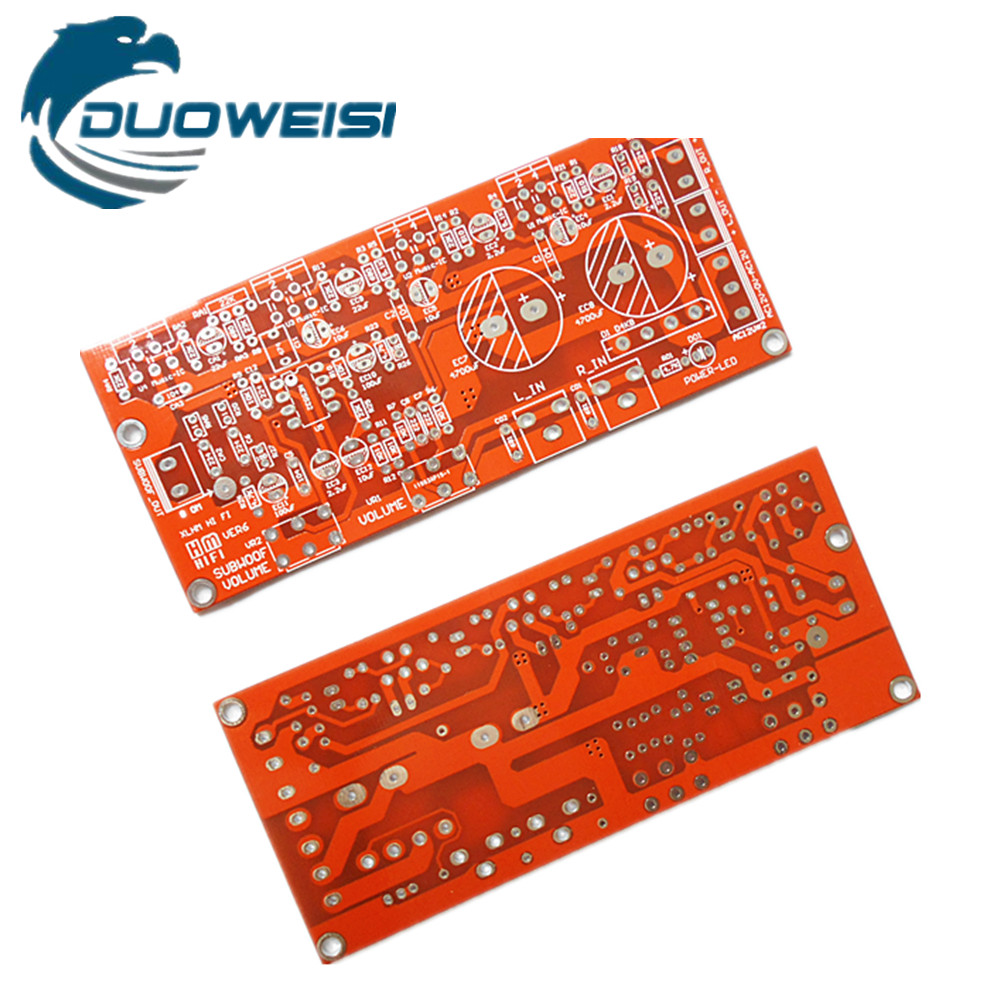 TDA2030A/LM1875/TDA2050 Empty Board PCB Circuit Board 2.1 Three-channel Amplifier Board