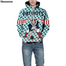 online retailer b56fc ded01 Buy patriots hoodie men and get free shipping on AliExpress.com