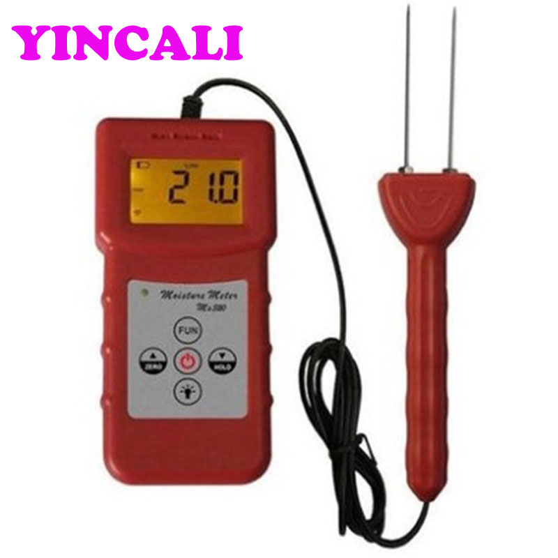 High Precision Digital Tobacco Moisture Meter MS320 tobacco stalk Tobacco Bale Moisture Tester Measurement range 8~40%
