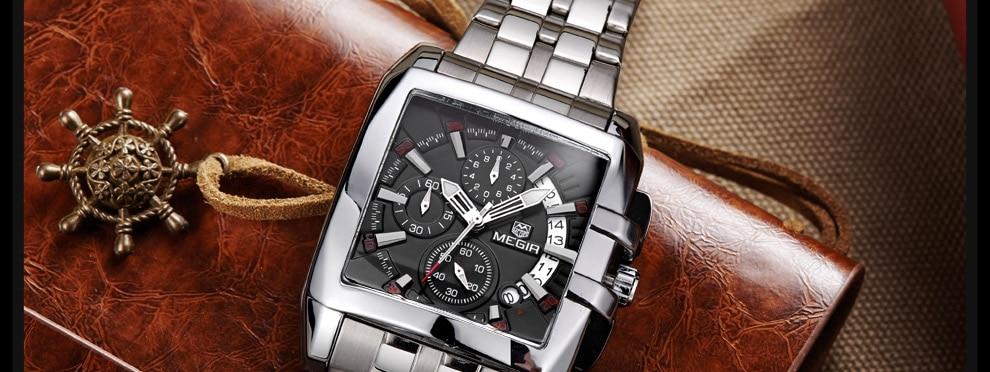 2018-En_26  MEGIR Males's Large Dial Luxurious Prime Model Quartz Wristwatches Artistic Enterprise Stainless Metal Sports activities Watches Males Relogio Masculino HTB1v2NLcRgXBuNjt hNq6yEiFXaH