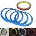 4pcs/set Blue Car Auto Interior Door Speaker Trim Cover Ring For BMW 3-SERIES F30/F34/320/328 #J-4459