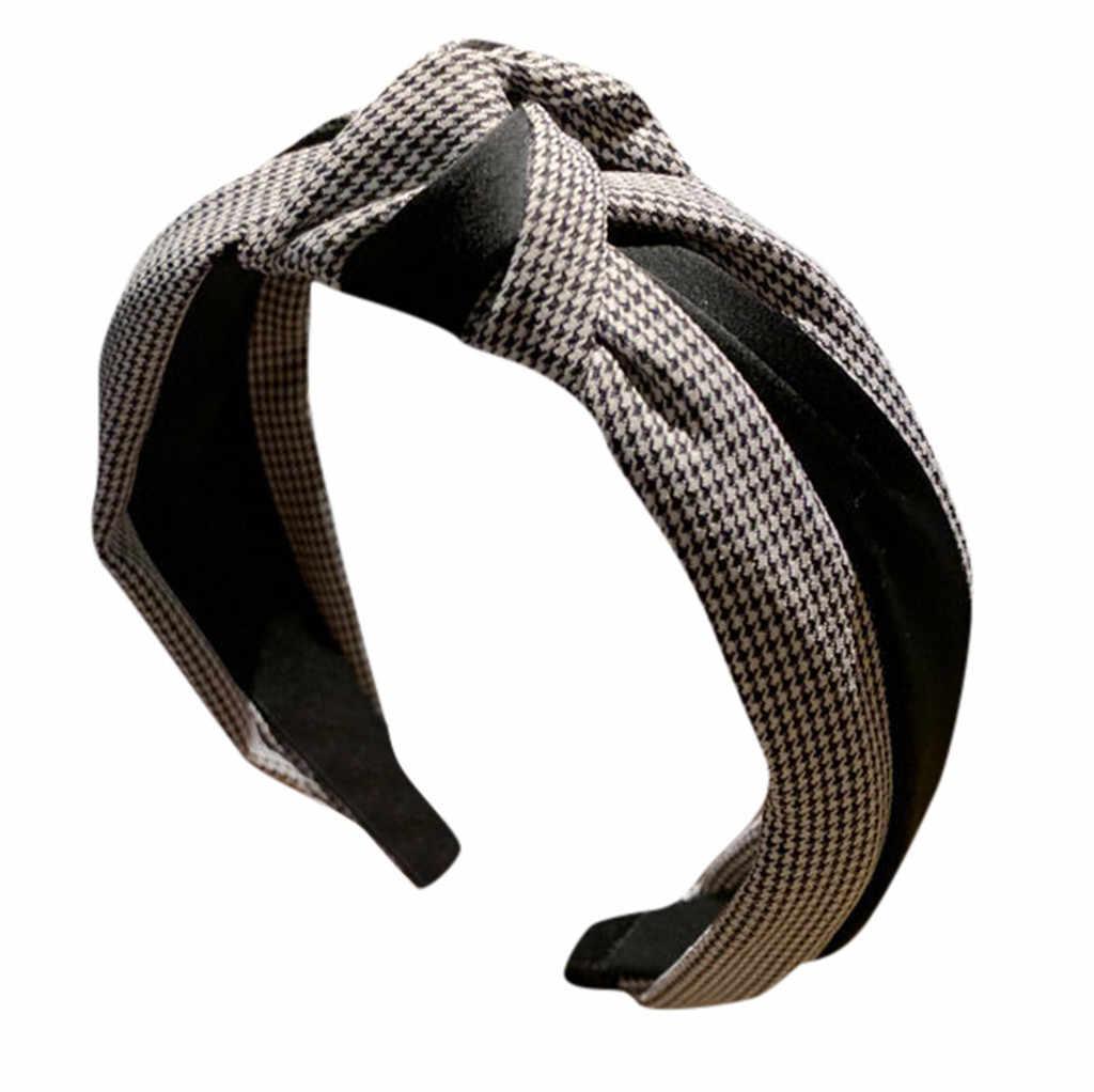 Bantlar kadın Siyah 2019 Çizgili Kafa Bandı Yay Bandı Kafa Bandı saç bandı saç aksesuarları-30