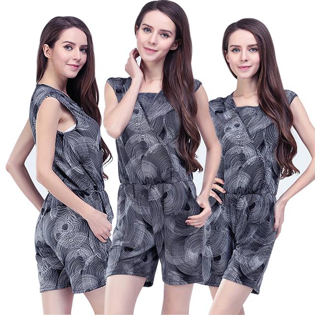 Emoção Mães maternidade Roupas roupas de enfermagem Amamentação roupas para mulheres grávidas maternidade Curto Macacões Macacão