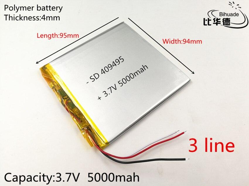 polegada tablet PC ICOO Polímero 3.7 V lithiumion