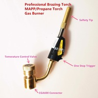 Welding Torch Of MAPP Propane Gas For Brazing Soldering Welding Heating Application Can Also Be Used