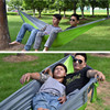 2016 Double Person Indoor Outdoor Portable Hammock Hanging Swing Sleeping Bed Parachute Cloth Nylon Fashion Free