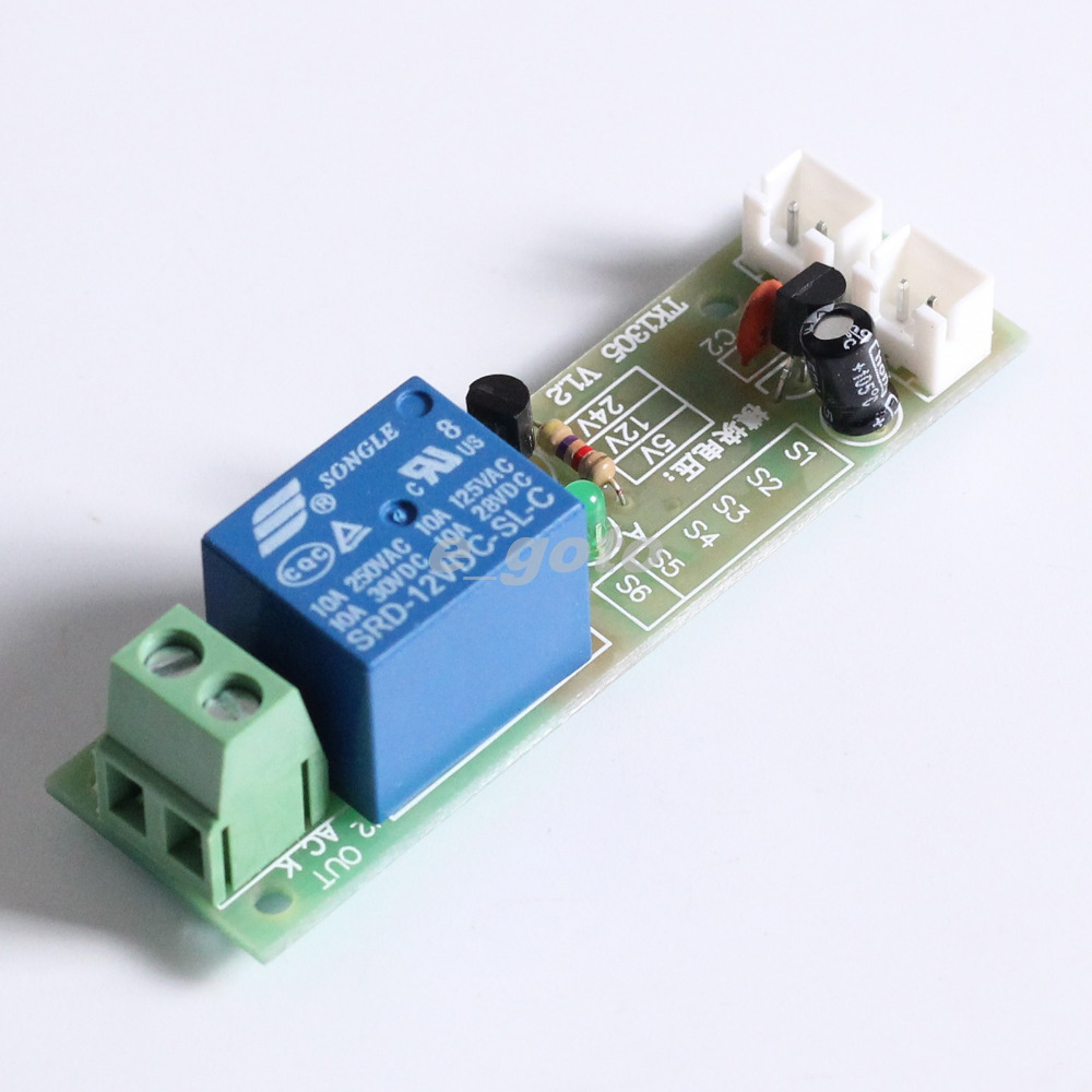 Delay Timer Switch  Minute Delay Dc 12v Input Multi Function Relay In Integrated Circuits From Electronic Components Supplies On Aliexpress Com