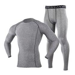 Jaqueta de esqui de inverno e calças de esqui térmico conjunto de roupa interior masculino longo johns para esqui/equitação/escalada/ciclismo