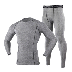 Winter Men Ski Jacket and Pants Thermal Skiing Underwear Set Men Long Johns Men For Ski/Riding/Climbing/Cycling