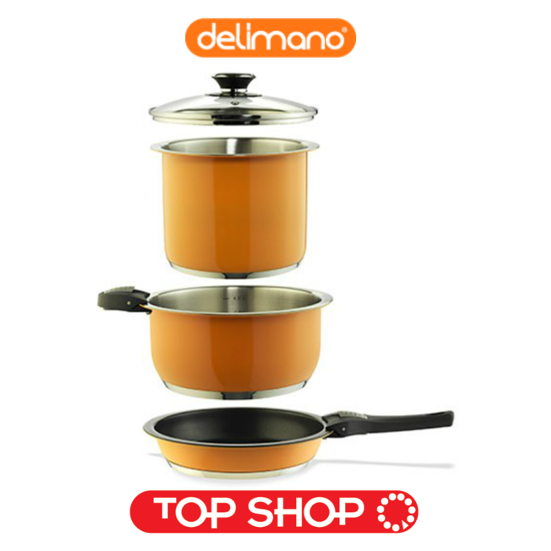 Pot For Induction Cooker ~ Set delimano smart premium cookware with pot stainless