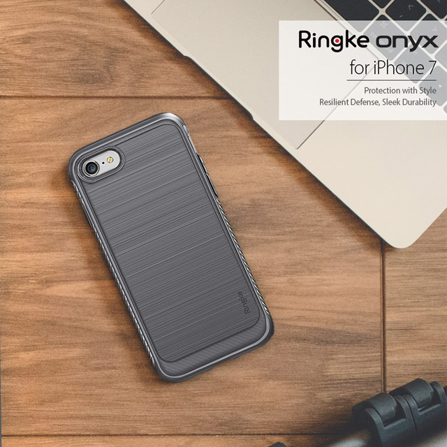 finest selection 7a8c4 305db US $12.99 |Ringke Onyx Mobile Phone Case for iPhone 7 Soft TPU Anti Slip  Case for iPhone 7 Plus Flexible Case for iPhone 8 Plus -in Fitted Cases  from ...