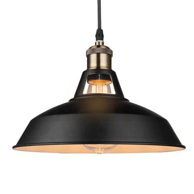 תעשייתי רטרו סגנון מסעדת מטבח בית מנורת תליון אור דקורטיבי מנורות בציר תליית אור אהיל עבור אוכל