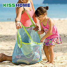 Kids Baby Anti-Sand Away Carry Beach Toys Pouch Tote Mesh Large Children Tote Storage Toy Collection Sand Away Beach Mesh Tool falling away