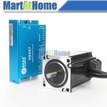 Verbesserte Version 300 Watt Leadshine Einfach Servotreiber Kit-Servoantrieb HBS57 & Motor 573HBM20-1000 # SM583 @ SD