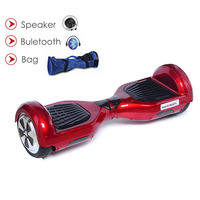 New Arrival 6 5inch 2 Wheel Standing Drift Board Self Balance Electric Scooter Bluetooch Remote Bag