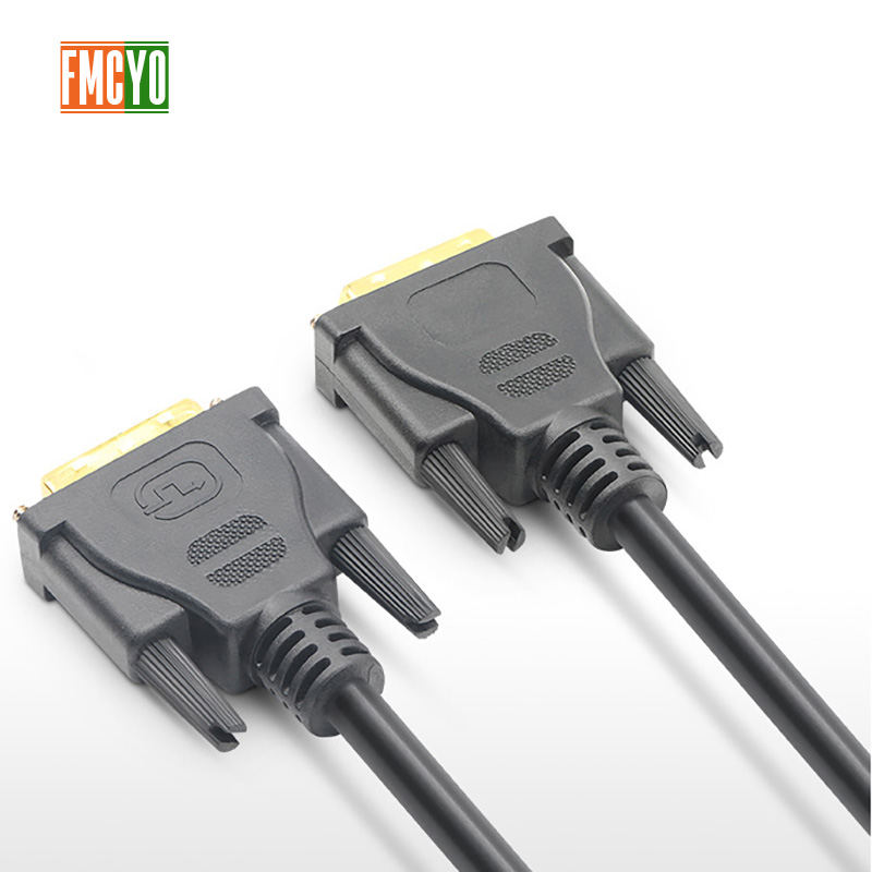 Image 2 - DVI Male to 24+1 DVI D Male Adapter Video Cable Gold Plated 1080P for HDTV DVD Projector 1.5m  3m 5m 10m 15m 20m High Speed-in DVI Cables from Consumer Electronics