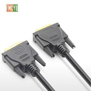 Image 2 - DVI mâle à 24 + 1 DVI D adaptateur mâle câble vidéo plaqué or 1080P pour HDTV DVD projecteur 1.5m 3m 5m 10m 15m 20m haute vitesse