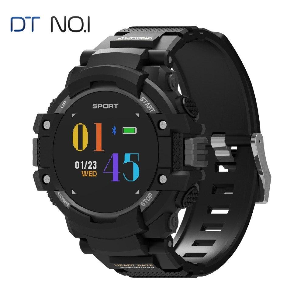 DTNO.1 F7 GPS Smart watch dispositivos Wearable Activity Tracker Bluetooth 4,2 altímetro barómetro brújula GPS al aire libre del reloj 2018